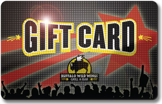 Buffalo Wild Wings Gift Card & POP on Behance