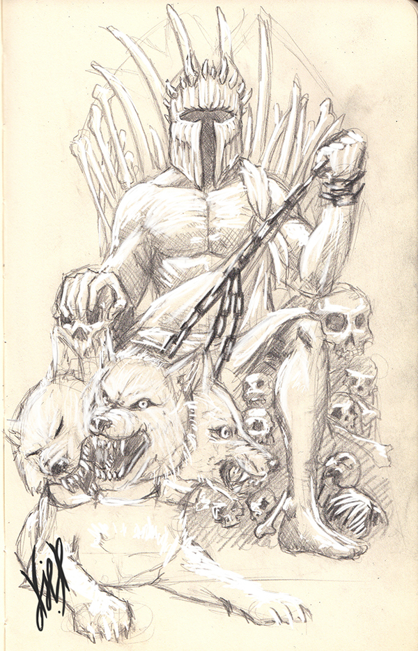 Day 4  Hades   God of the UnderworldHades God Of The Underworld Drawing
