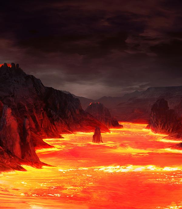 Matte Painting,short movie,background design,Cinema,movie,fantasy,Aladin,Picture,volcano