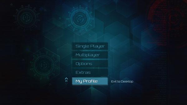 Game UI Background And Menu On Student Show - Game menu design