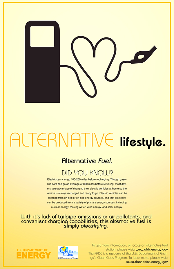 Alternative Fuel Poster Campaign On The Art Institutes Portfolios