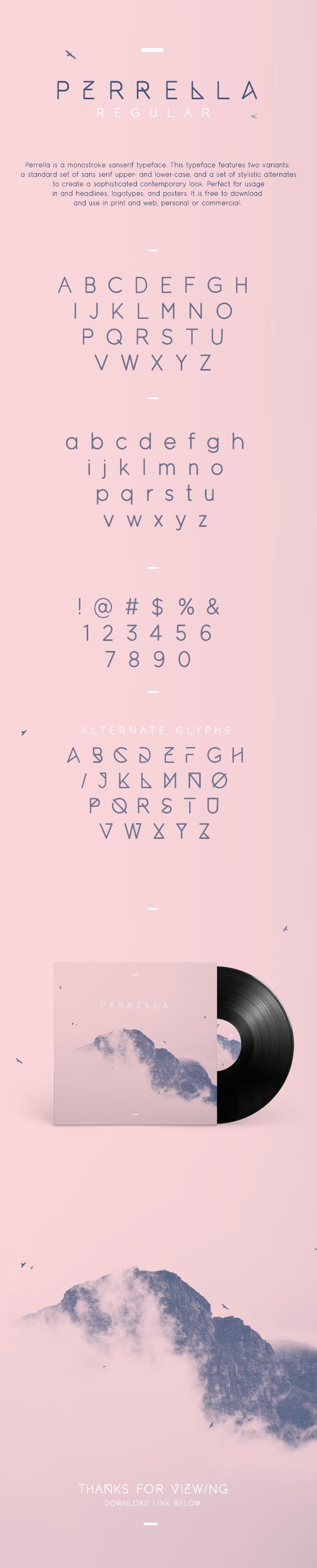 type design sans serif font free