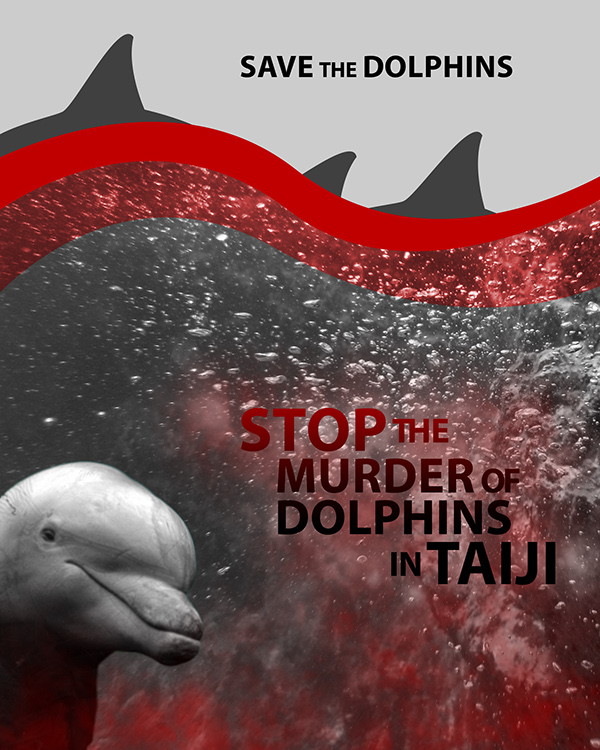 save the dolphins They save humans from sharks whether this has to do with them loving humans or just really disliking sharks is up for some debate but regardless of their motives, there are plenty of examples of dolphins saving humans from shark attacks.