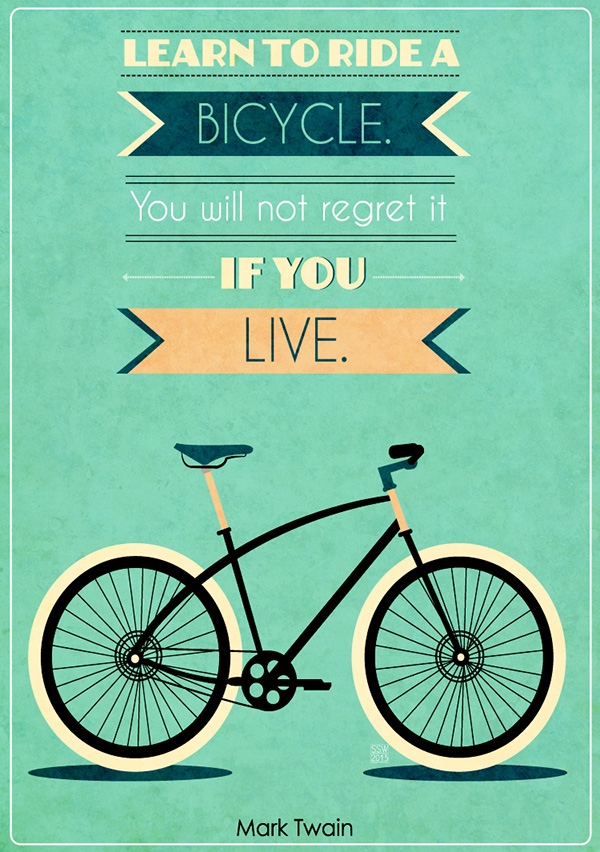 Bike Quotes on Behance