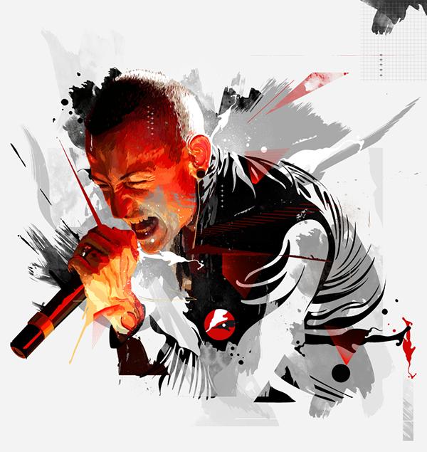 Linkin Park Grunge In Motion On Behance