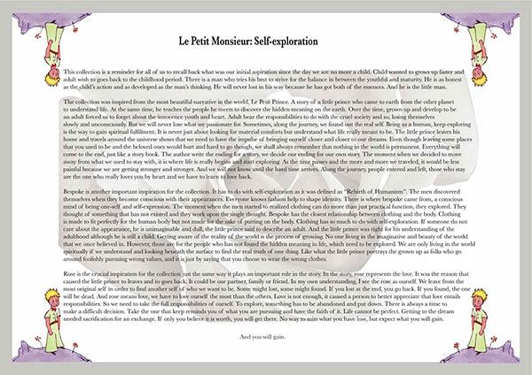 Le Petit Monsieur: Self-exploration on Pantone Canvas Gallery