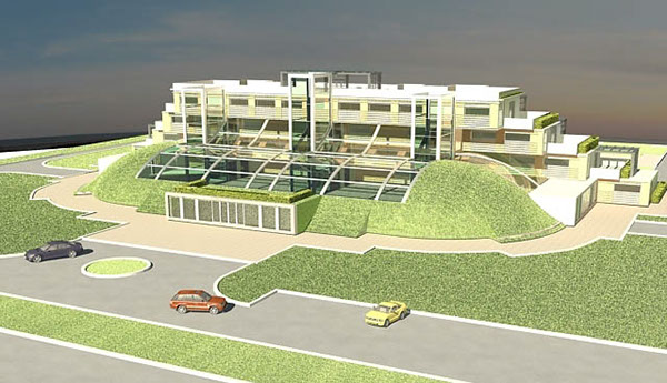 concept design of hotel in the crimea eco architecture on