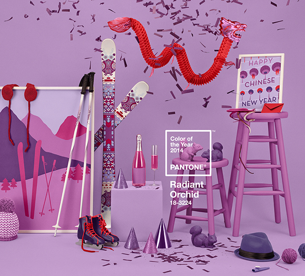 Color Of The Year 2014 On Behance
