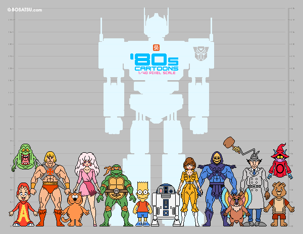 Character Design Job Canada : S cartoons scale pixel character lineup on behance