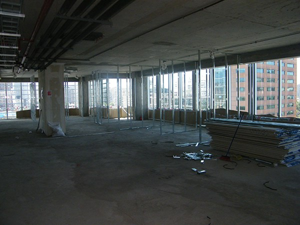 Construccion oficinas pronto on behance for Construccion oficinas