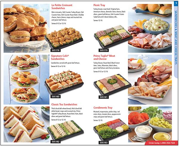 Safeway Canada Food Platters