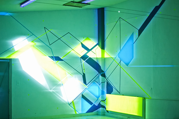 NAWER TEMPORARY SPACE DESIGN VIDEO 3D MAPPING