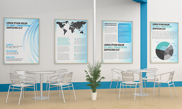 Small Exhibition Stand Mockup : Exhibition stand design mockup on behance