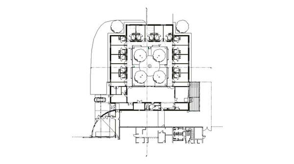 Unit alzheimer de montain lavigny on architecture served for Architecture unite alzheimer