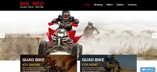 Big Red Quad Bike Rental