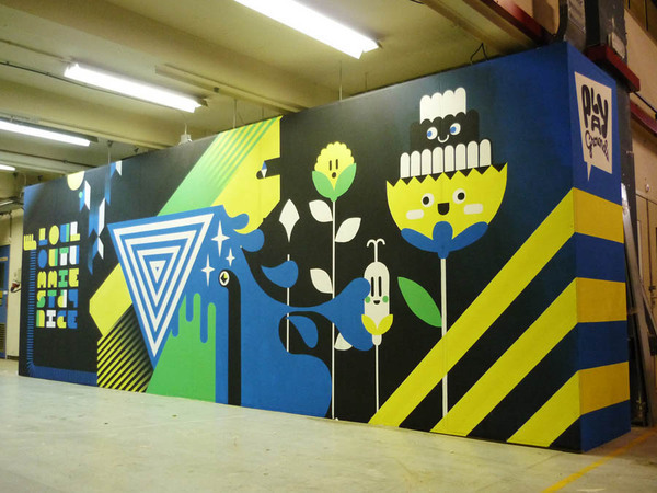 Murals & Backdrops on Behance