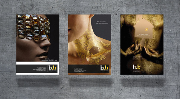 Advertising campaign for Luxury Real Estate on Behance