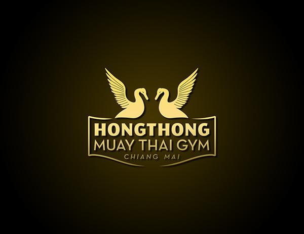 Muay Thai Gym Logo Hongthong Muay Thai Gym on