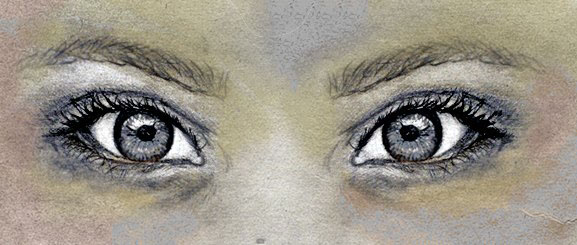 eyes girl pencil sketch photoshop digital painting