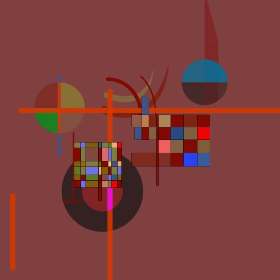 Kandinsky Abstract Art...