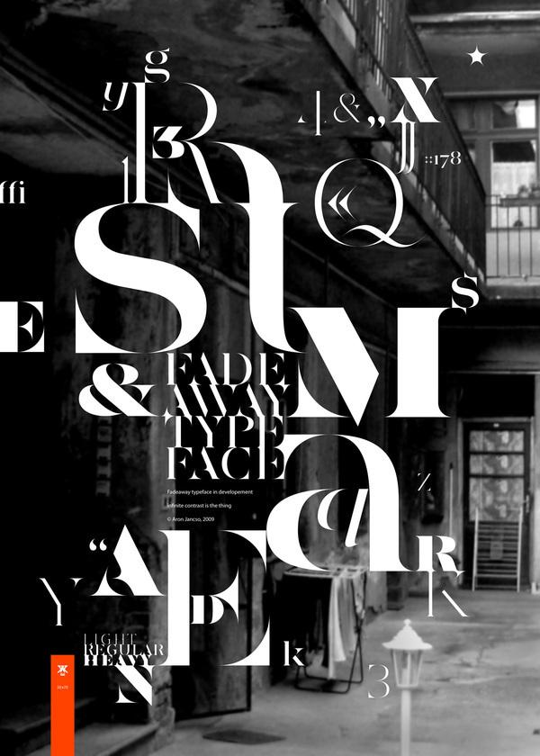 Typograpic Posters II von Áron Jancsó