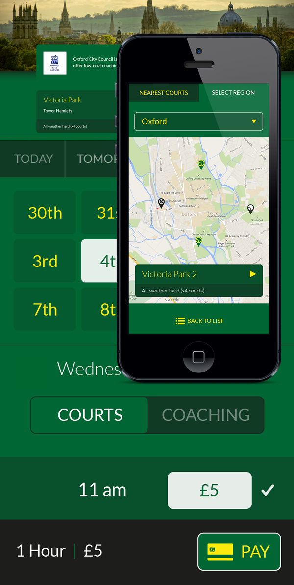 Mobile-First Design Booking System progressive enhancement