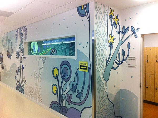 Seattle Children S Hospital Bellevue Imaging Area Floor On