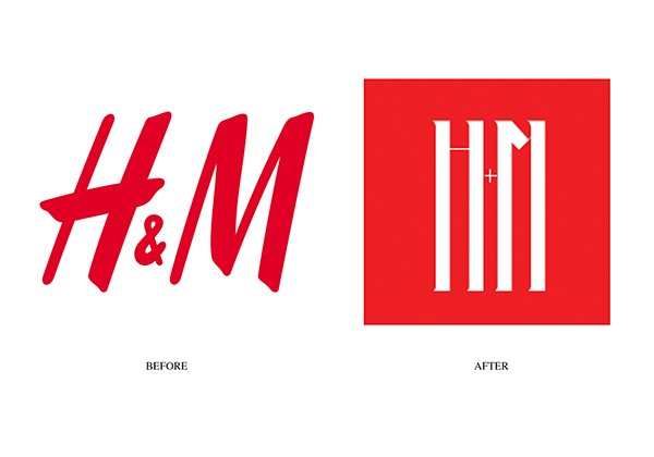 H&m Logo Redesign And