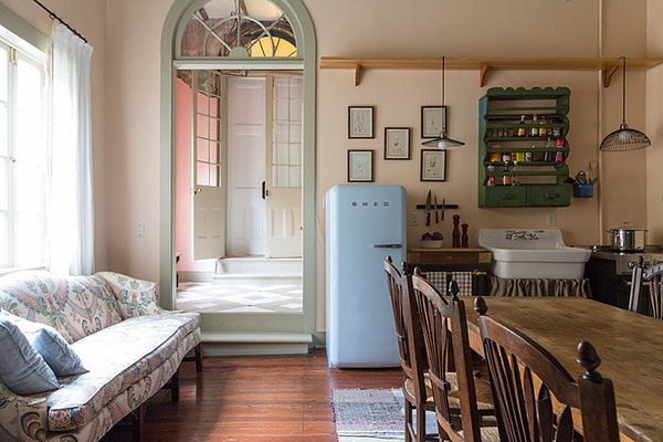 French quarter condo by logan killen interiors on behance for M furniture gallery new orleans