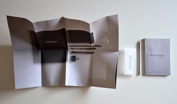 Folded portfolio sedicesimo on behance for Politecnico di milano design della moda