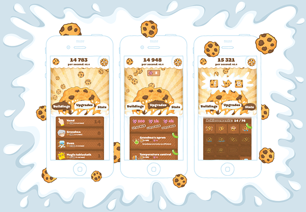 hopscotch app how to make a cookie cliker