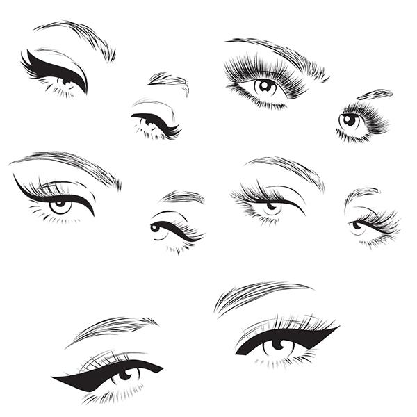 有美感的24套手繪眼睛欣賞