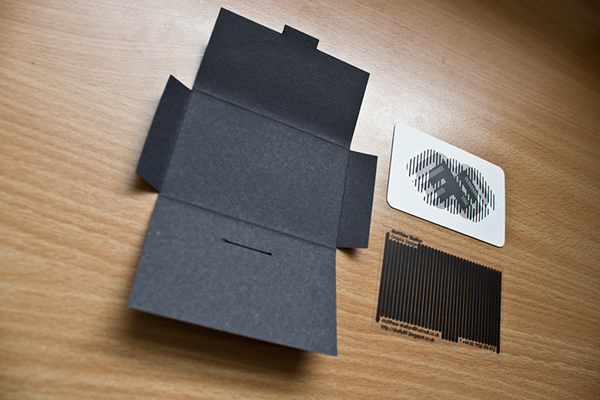 animated scanimation scan lines business card degree Show personal acetate animate self Promotion Self Promotion