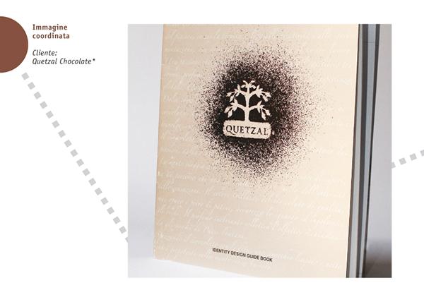 Pack chocolate immagine coordinata manuale operativo brand manual