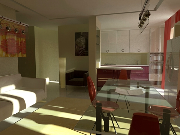 Restyling appartamento - Casavatore (NA) on Behance