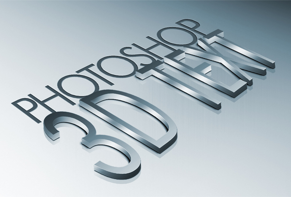 3D fonts (free download) on Behance