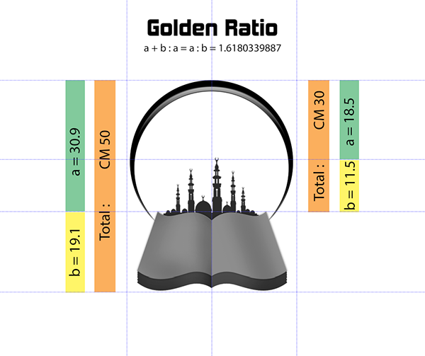Logo Golden Ratio Design