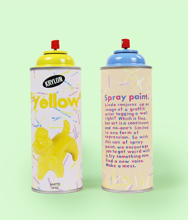 Paint Spray Paint Packaging On Behance