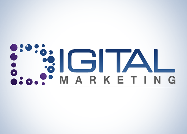 Digital Marketing logo design on Behance