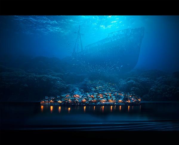 Underwater landscape by Alex Nizhnikovskiy