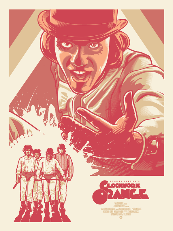 Clockwork Orange Fan Art Poster on Behance
