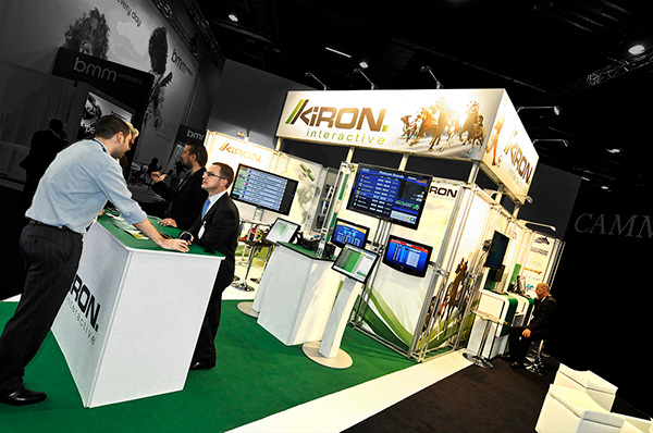 Custom Modular Exhibition Stands : Kiron interactive custom modular exhibition stand on behance