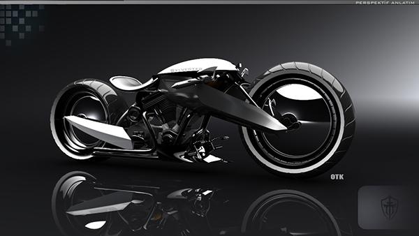 Sylvester Chopper Motorcycle Concept on Behance