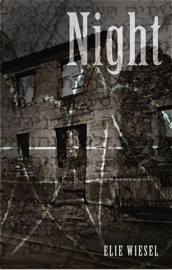 "Book Cover - ""Night"" Elie Wiesel on Behance Elie Wiesel Night Cover"