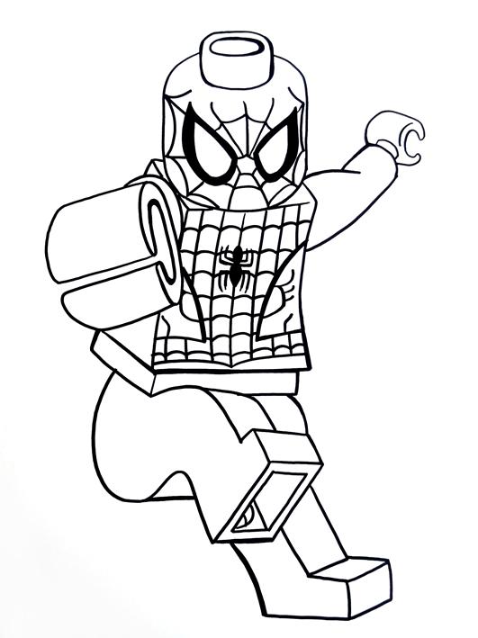 Lego Sketch Spiderman On Behance