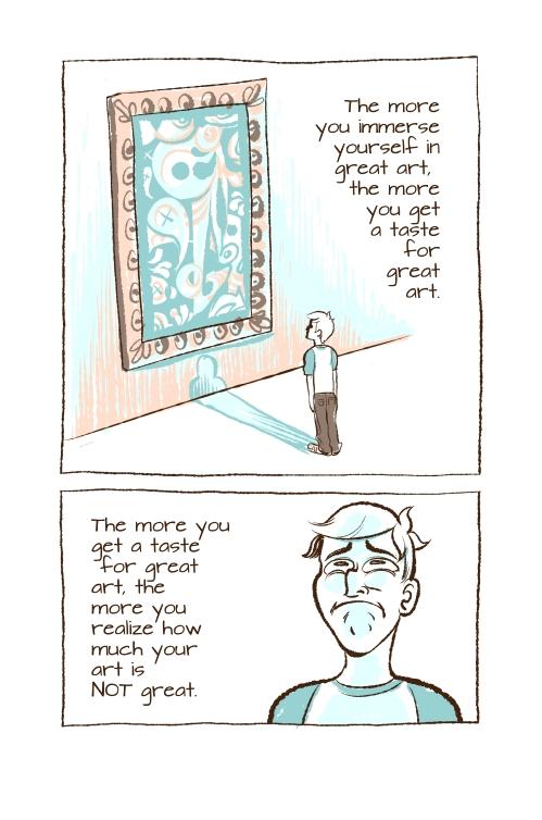Creativity comic failure