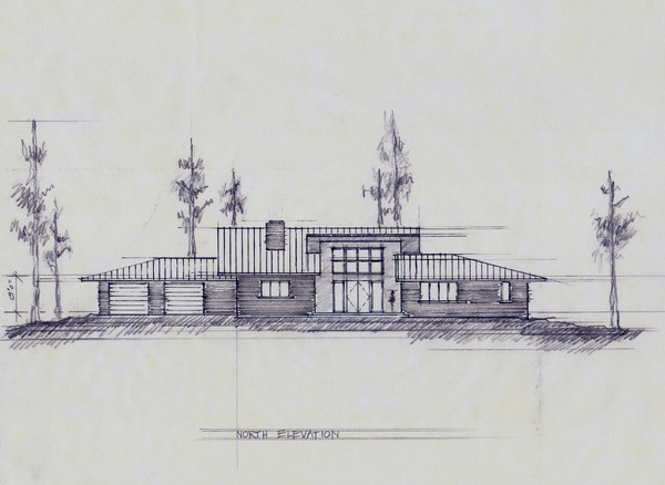 House Sketches the lake house/ sketches on behance