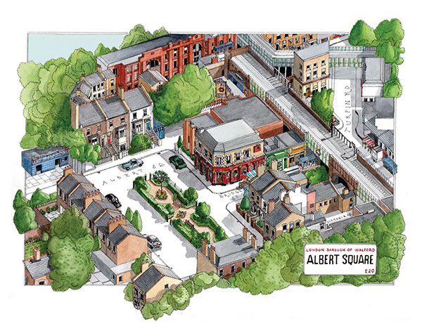 on eastenders map of albert square
