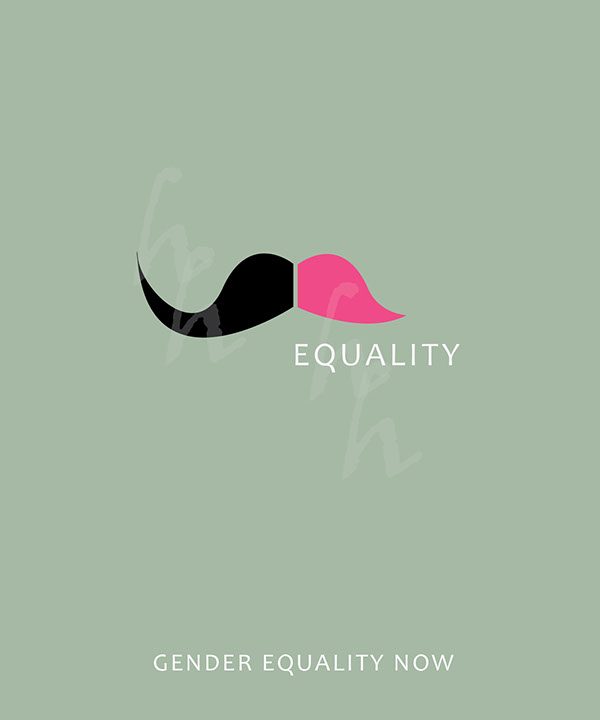 Posters On Gender Equality on Behance Gender Equality Posters