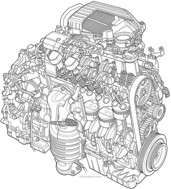 Honda Vtec Engine Diagram